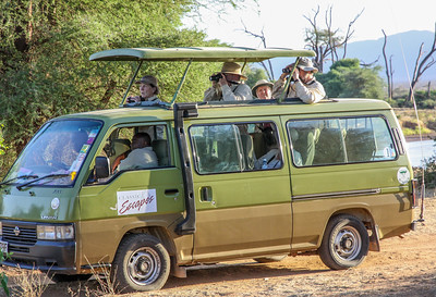"""Kenya March 2014 with Dave Larson """"Tour Vehicle"""""""