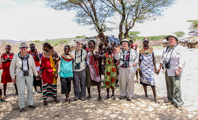 """Kenya March 2014 with Dave Larson """"All the Ladies"""""""
