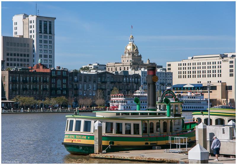 Savannah's Wharfs