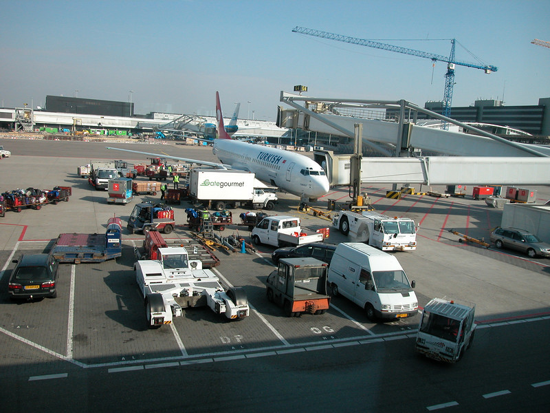 Waiting to leave for Antalya @ Schiphol International Airport for a yachting project in Antalya, Turkey.