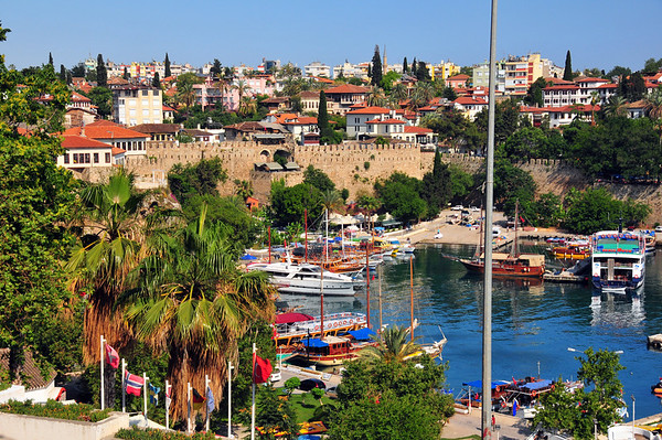 Båthavna vert rekna som den finaste i Tyrkia..