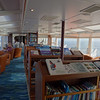 Library of our ship, the National Geographic Explorer.
