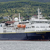 Our home for the next 10 days: National Geographic Explorer, flagship of the Lindblad fleet.