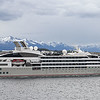 Le Soleal - a French ship departing Ushuaia taking passengers on expeditions in the Antarctic.
