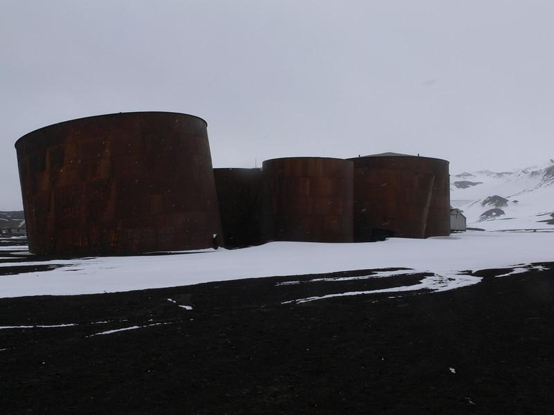 Whaler tanks
