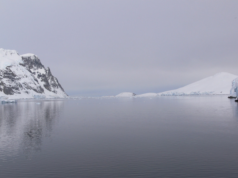 Looking towards Petermann Island, we will visit another day.