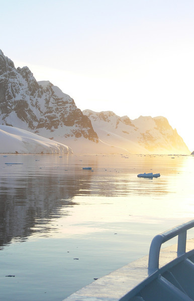 Sunset in the Lemaire Channel