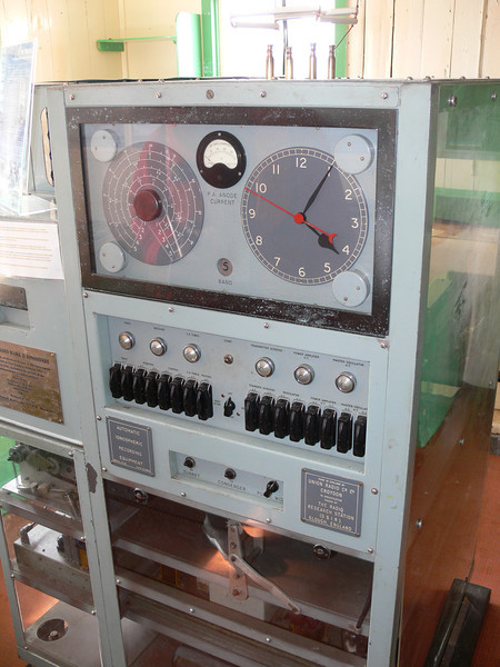 "Restored ""Beastie""-ionospheric recording equipment"