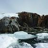 Rocky cliffs of Petermann Island