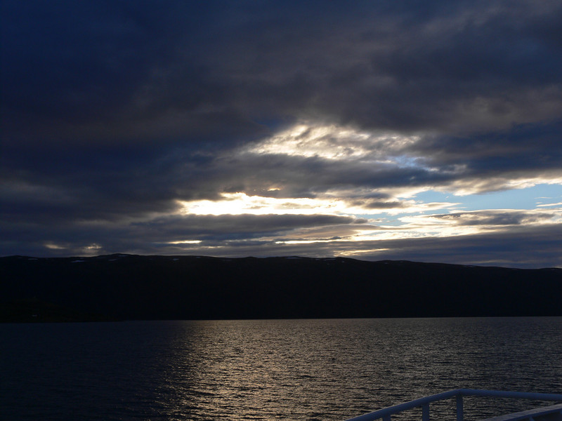 Sunset on the Beagle Channel