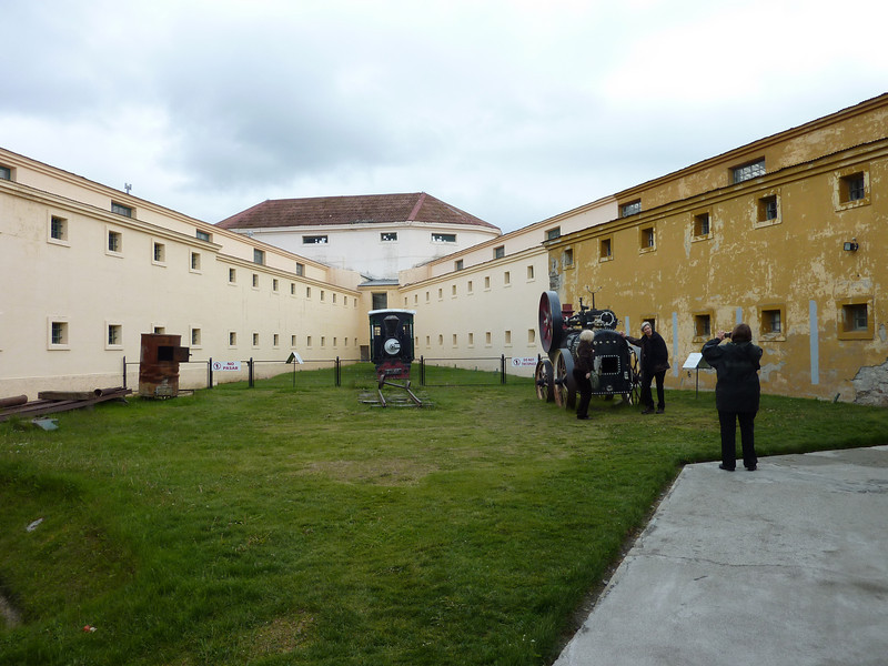 When we got back to Ushuaia we went to the Prison Museum before going to the airport
