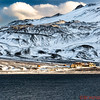 Remnants of an old abandoned Norwegian whaling town at Deception Island.   The town was built in the early 1890's and abandoned in 1959.  This is a view from the water of one of the buildings that is falling down.