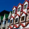Colorful buildings in Ushuaia
