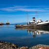 Old Ship in Ushuaia Harbor