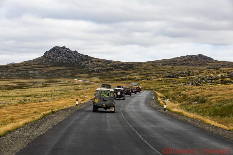 Geology Tour caravan