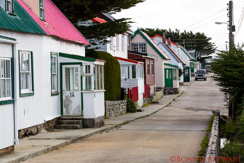 Residential  Street in Stanley