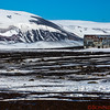 The old hanger at the abandoned Norwegian whaling town at Deception Island