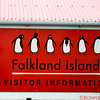 Falkland Signage - they love their penguins!