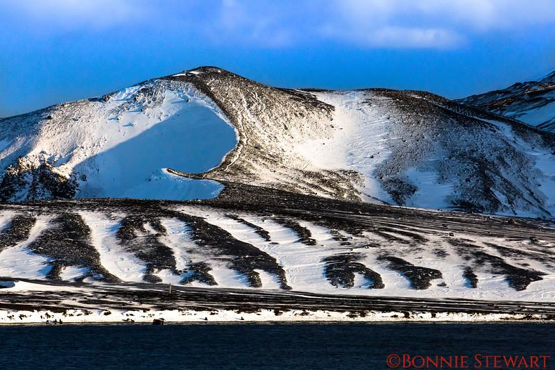 Landscape at Deception Island