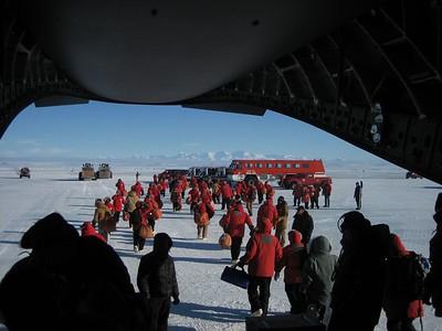 Antarctica - 1st Glimpse