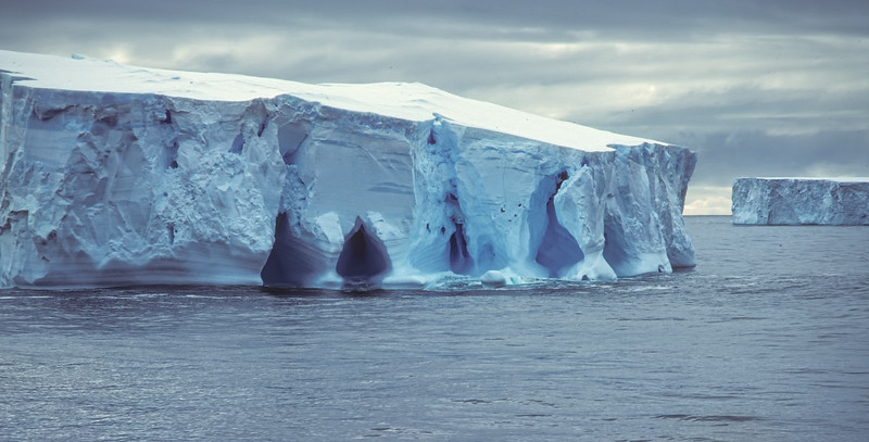 Iceberg with Caves