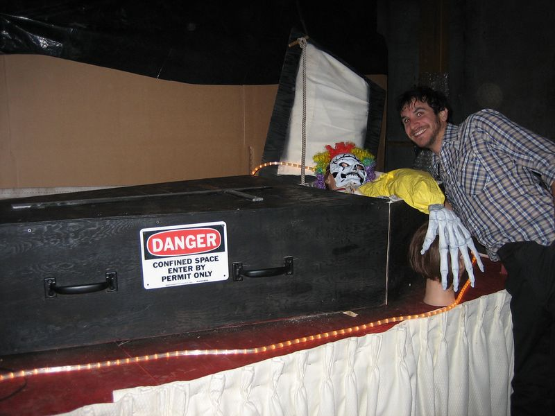 Nathan at the Haunted House