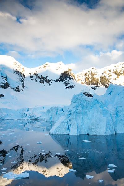 Iceberg Reflection in Paradise Bay
