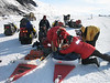 "Preparing the sleds for the journey to ""Room with a View"""