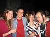 The town Christmas Party...<br /> Laura, Rich, Rachel & Andy