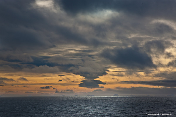 Sunset, Weddell Sea, Antarctica