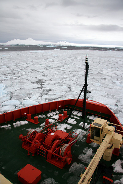 Breaking Ice With the RV Palmer - Antarctica