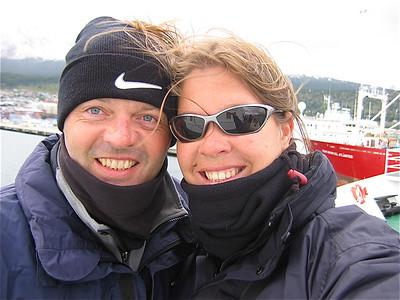 M/V Ushuaia, Antarpply Expedition 2005, Antarctica.  Samen werelds genieten.