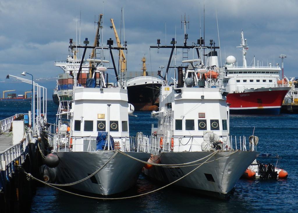 Boats in Ushuaia
