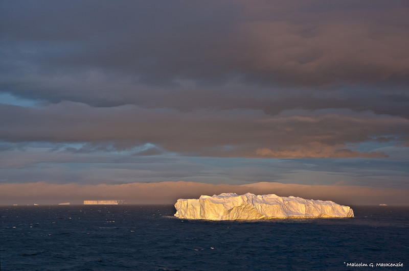 Day's Last Kiss, Antarctica