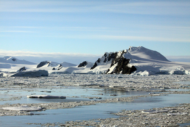 Sunny Day on Charcot Island - Antarctica