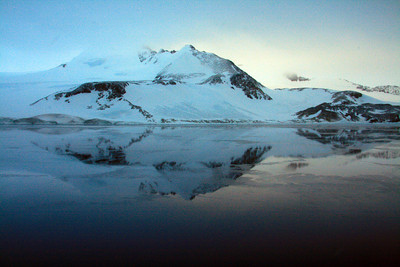 Mirror Image Morning in Joinville - Antarctica