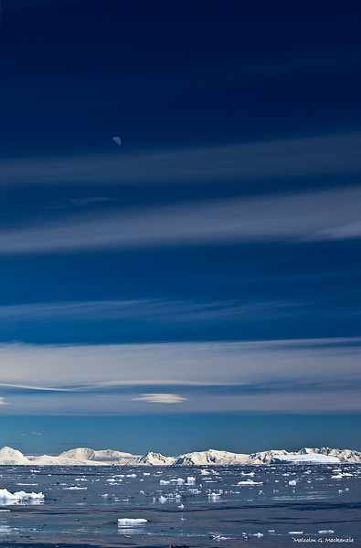 Ice and Moon, Antartica