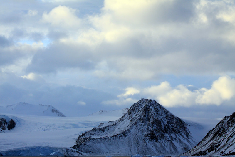 Glacier Off of Calmette Bay - Antarctica