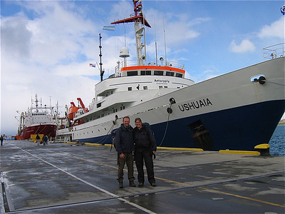 M/V Ushuaia, Antarpply Expedition 2005, Antarctica.
