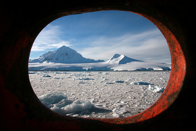 Starboard Hole and with a View - Antarctica