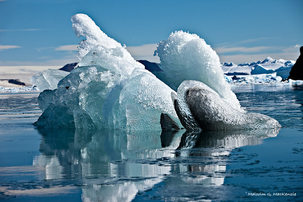 Natural Ice Sculpture, Devil island, Antarctica