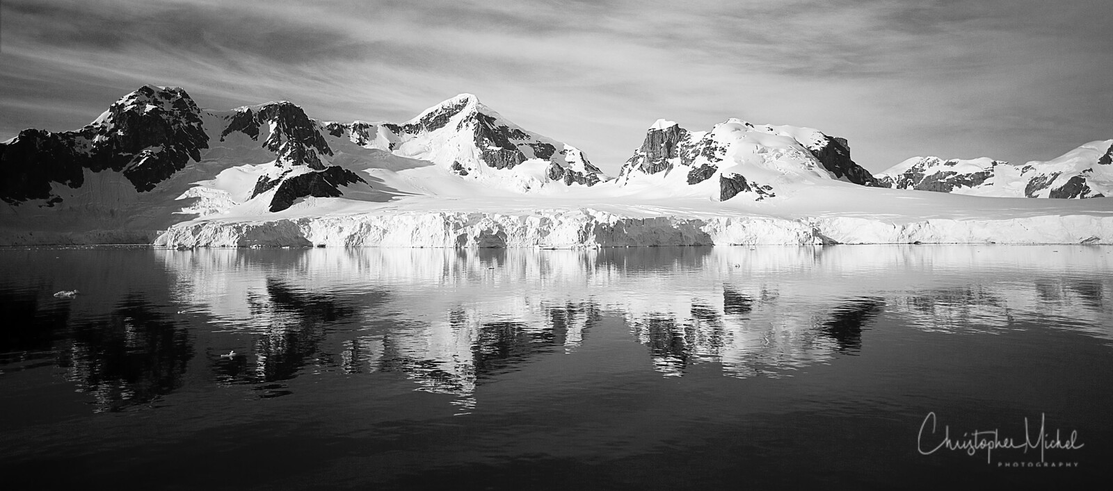 Antarctica left a restless longing in my heart beckoning towards an incomprehensible perfection forever beyond the reach of mortal man. Its overwhelming beauty touches one so deeply that it is like a wound.  —Edwin Mickleburgh Beyond the Frozen Sea