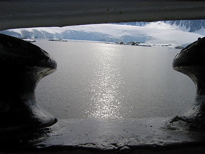 M/V Ushuaia, Antarpply Expedition 2005, Antarctica. Port Lockroy.