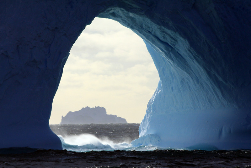 Picture Within a Picture - Antarctica
