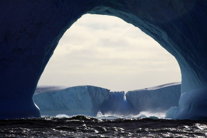 Framing Ice Arch - Antarctica