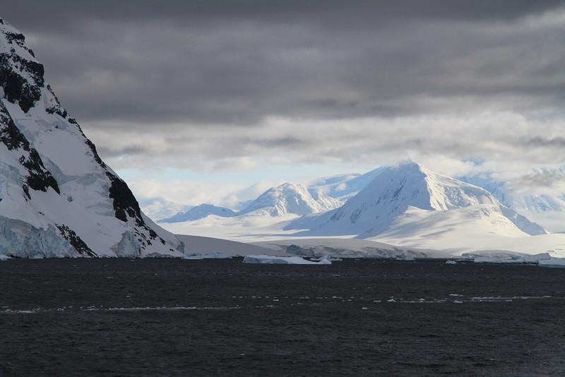 Glacier Field, Lamaire Channel, Antarctic Peninsula