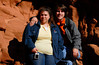 Krissi and Rob at the tail end of Antelope Canyon.