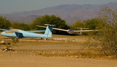 Landing glider 5078