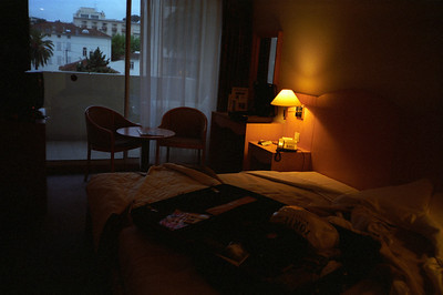 My room a few Km west of the Beau Rivage!