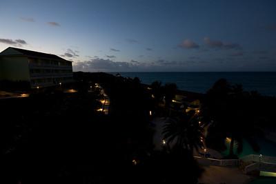 Evening at the Resort